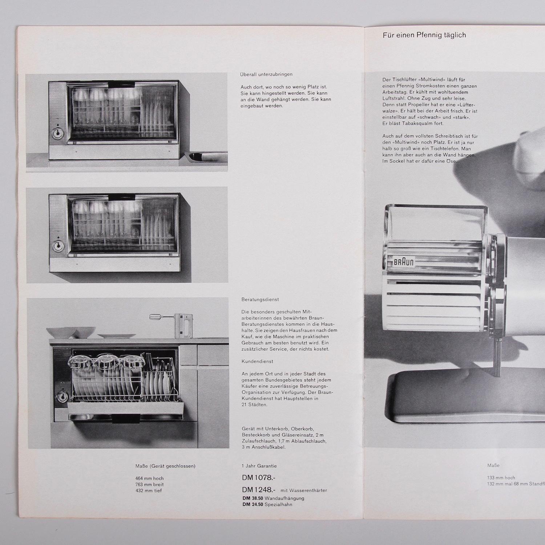 dasprogramm shop: homewares catalogue, ca 1964